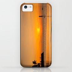 Sunset paddleboarding Slim Case iPhone 5c