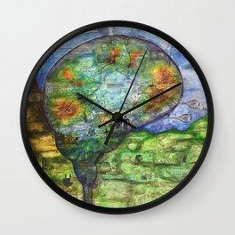 Neuronal Mind Wall Clock