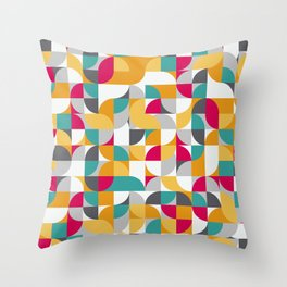vector Design Deco. Throw Pillow