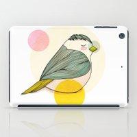 nan lawson iPad Cases featuring Little Bird by Nan Lawson