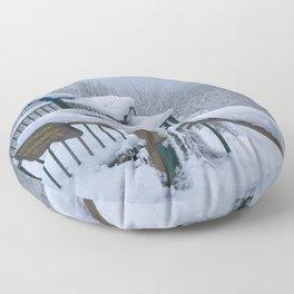Aussichtspunkt Schwalbenthal Floor Pillow