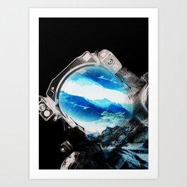 Earth Odyssey 2016 Art Print