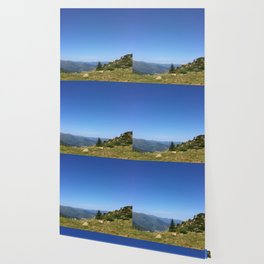 View on the summits Wallpaper