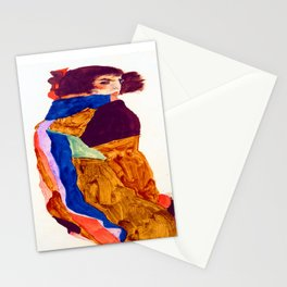 Egon Schiele Moa Stationery Cards