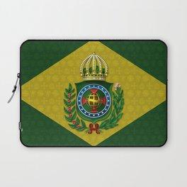 Dom Pedro II Coat of Arms Laptop Sleeve