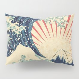 The Great Wave in Rio Pillow Sham
