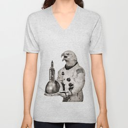 Anthropomorphic N°23 Unisex V-Neck