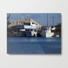 Bahama Boatyard! Metal Print