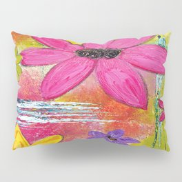 Abundance of Flowers Pillow Sham