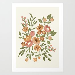 Freya Flowers Art Print