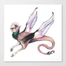 Winged Beast Canvas Print