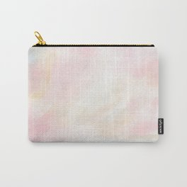 Patience - Pink and Gray Pastel Seascape Carry-All Pouch