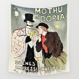 Mothu et Doria Wall Tapestry