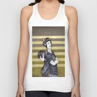 homestuck Tank Tops featuring SolKat by Sprat