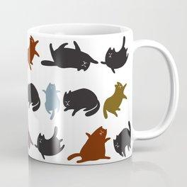 Yoga Cats Coffee Mug