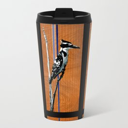 Ugandan Pied King Fisher Travel Mug
