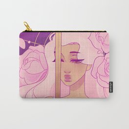 saint of angels, angel of saints Carry-All Pouch