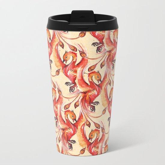 phoenix Metal Travel Mug