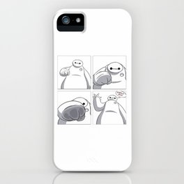 Big Hero 6 - Baymax  iPhone Case
