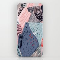 knit iPhone & iPod Skins featuring knit painting by frameless