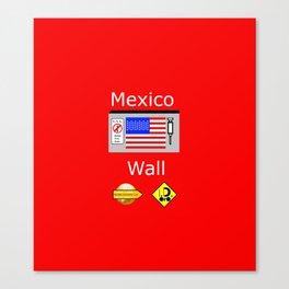 Mexico Wall Canvas Print