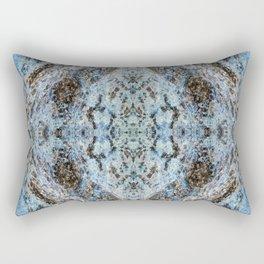 Southwestern Turquoise Pattern Rectangular Pillow