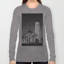 Sandy Hook Lighthouse Long Sleeve T-shirt