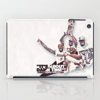 nba iPad Cases featuring Lebron//NBA Champion 2012 by Largetosti