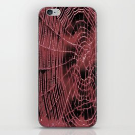 Living Coral Web iPhone Skin