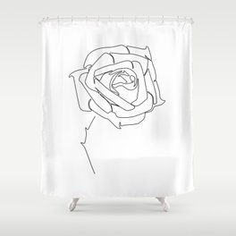 Rose Up Shower Curtain