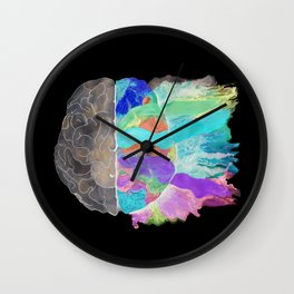 Be Creative inverse Wall Clock