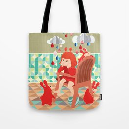 A Day To Idle And Daydream Tote Bag
