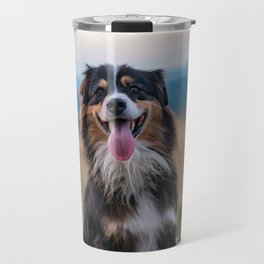 Australian Sheep Dog Travel Mug