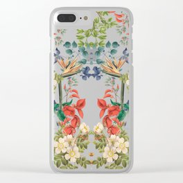 Colorful Spring Clear iPhone Case