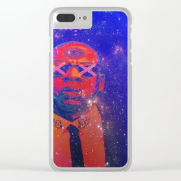 4 4 4 Clear iPhone Case