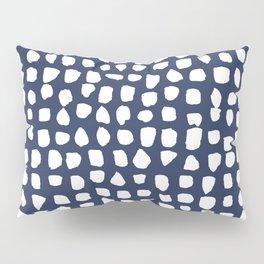 Dots / Navy Pillow Sham