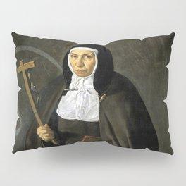 """Diego Velázquez """"Madre Jerónima de la Fuente"""" Pillow Sham"""