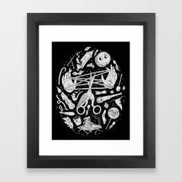 Lullaby in Frogland Framed Art Print