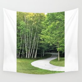 Winding Road Wall Tapestry