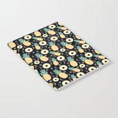 Black Pineapple Notebook