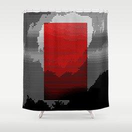 ryd hyryzyn Shower Curtain