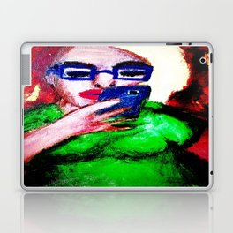While The Sky Is Falling. Laptop & iPad Skin