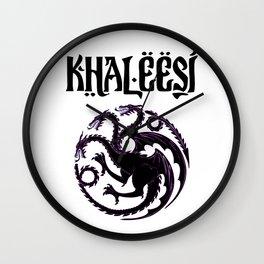 Khaleesi.dragon Wall Clock