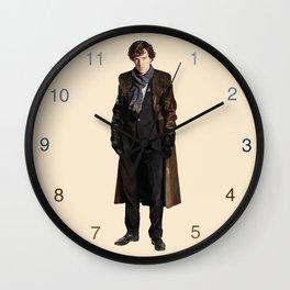 Sherlock Khan Holmes Wall Clock