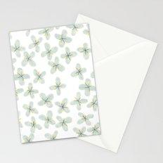 Blue Cherry Blossom Stationery Cards