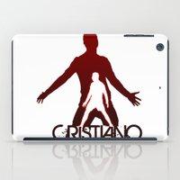 ronaldo iPad Cases featuring Cristiano Ronaldo by Sport_Designs