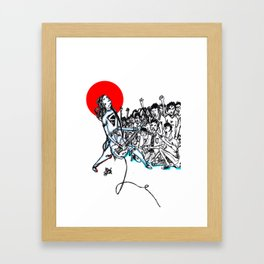 Enjoy Gig Framed Art Print