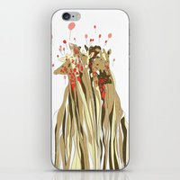 tangled iPhone & iPod Skins featuring Tangled by Julia Kisselmann