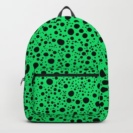 Dots Colorful Retro Art Pattern Backpack
