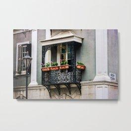 Gibraltar balcony Metal Print